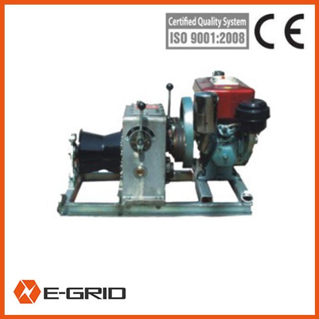 Diesel engine powered winch-09111