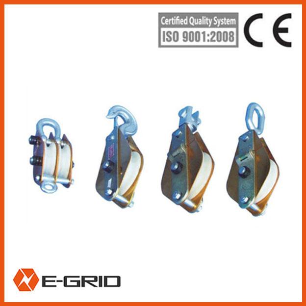 Hoisting Aluminous alloy and MC nylon lifting pulleys china
