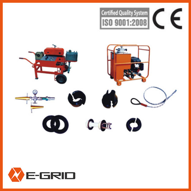 Model CLJ 60 cable blowing machines set